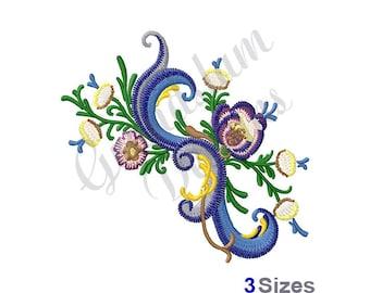 Rosemaling - Machine Embroidery Design