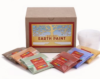 Children's Earth Paint Kit Petite