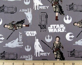 Per Yard, Star Wars The Force Awakens Fabric 14 By Camelot