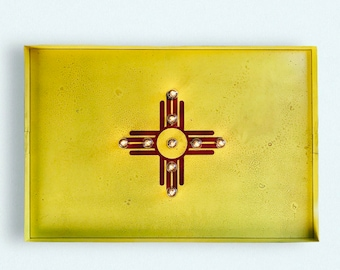 New Mexico State Flag Marquee Light
