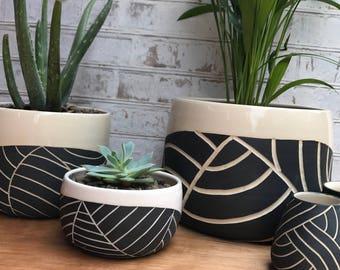 large s gardens stone outdoor in planters ceramic plants contained extra white indian planter or modern domestic and all the are pots plastic