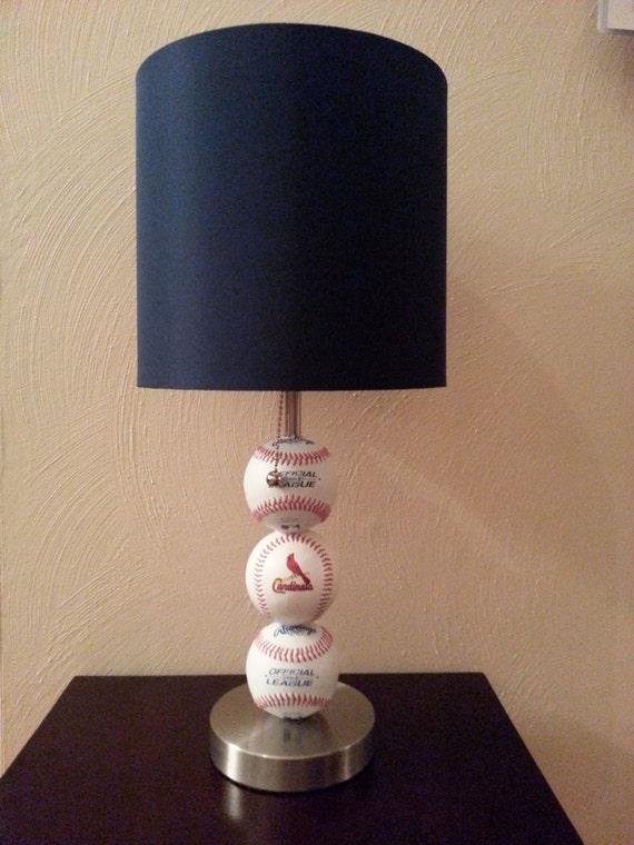 Superb St. Louis Cardinals Fan Custom Baseball Lamp