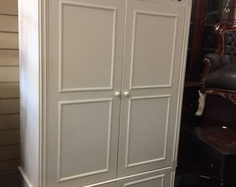 Shabby chic French style wardrobe