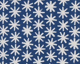 S.S. Bluebird in Plink Plink Natural by Collaborative from Cotton and Steel - 1/2 yard