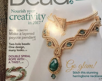 Bead & Button Magazine, February 2017, bead, button, magazine, Issue 137