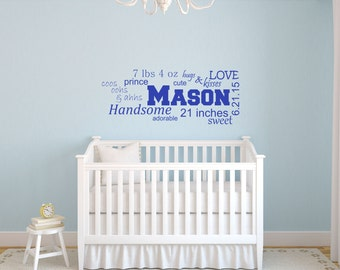 boy wall decal etsy