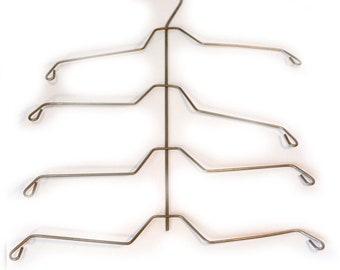 Metal Hanger Vintage Antique Clothes Hanger Photo Display