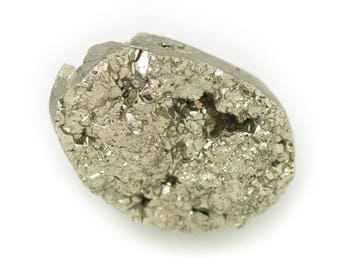 N5 - Cabochon stone - Pyrite raw 26x19mm - 8741140018358