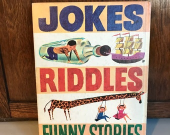 Jokes Riddles Funny Stories Hardcover Book
