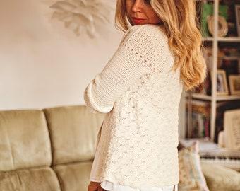 Crochet PATTERN  - Mia Cardigan