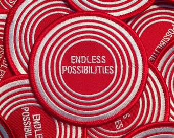 Endless Possibilities Embroidered Iron On Patch