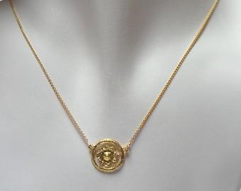 Gold Pendant - 18K Gold Pendant - Sunshine Pendant - Seeds Collection - Free Shipping!!!