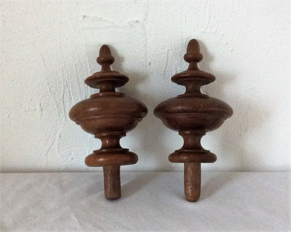 Wooden Finials, Home Improvement, Staircase Finial, Decorative Wood, Shabby  Chic, Home Decor, Wood Shapes, Turned Wood, French Country Home, ...
