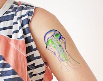 Jellyfish - Temporary Tattoo