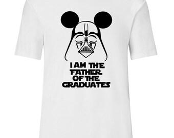 Disney Graduation Shirts, Disney Shirt, Disney Gift, Class of 2018 Shirts, Graduation Gift, Dad of the Grad, Mickey Mouse Graduate, Disney