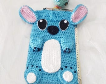 Stitch purse