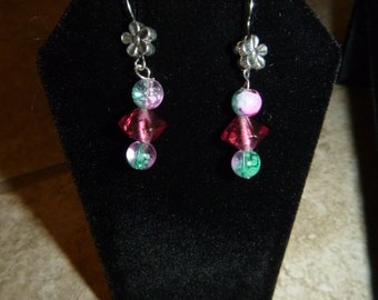 Wild Watermelon Bracelet and Earring Set