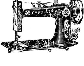 Vintage sewing machine digital download