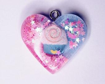 Fairy kei Kawaii Cupcake Pendant