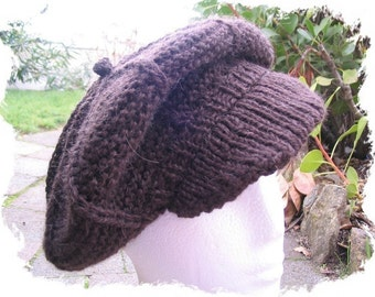Newsboy Cap and Beret knitting pattern - PDF knitting pattern