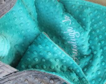 RESERVED ORDER 36x40 Minky Baby/Toddler Blanket