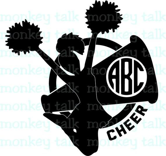 Cheer cheerleader megaphone monogram instant download includes svg cheer cheerleader megaphone monogram instant download includes svg eps pdf and jpg file types clip art from monkeytalkgifts on etsy studio thecheapjerseys Gallery