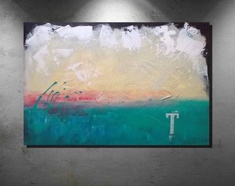 Abstract art, Acrylic paintings, large art painting, wall art canvas, large original painting, Landscape painting,