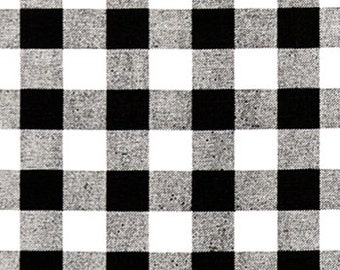 "Premier Prints Fabric-Plaid-Black-Plaid Fabric- Or-13 Color Choices-54"" wide-Fabric by The Yard Yardage"