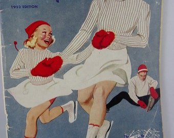 Vintage 1952 NEW LUX KNITTING Book