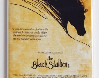 The Black Stallion Movie Poster Fridge Magnet