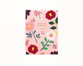 Garden Bloom Pocket Planner - Blush