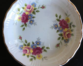 Small Floral Dish,