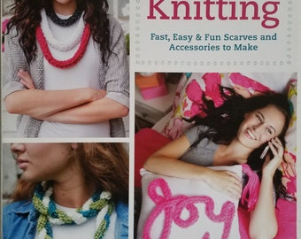 Finger Knitting Instruction Book
