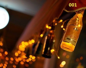 Lights Bokeh, Bokeh Photography, Hanging Bottles Wall Decor, Bottle Wall Art, Fantasy Bokeh Photo, Bar Wall Decor.