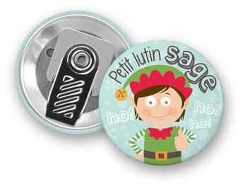 Motivational macaroon litle wise - badge clip - Pixie - boy - Motivation - children - kids