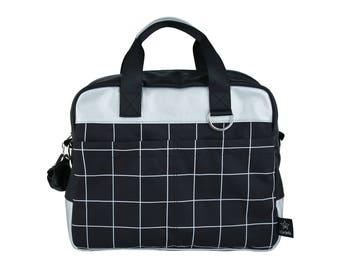 Grid Diaper bag,New collection, Nappy  Bag ,Big diaper bag, Designer stroller bag, Diaper Backpack ,changing bag, mommy bag