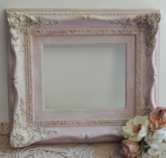Ornate Vintage 8 x 10 Pink Picture Frame, Pink and Gold Picture ...
