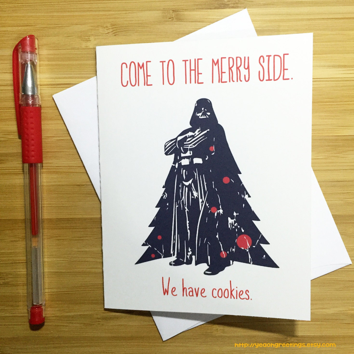 Come to the merry side christmas card funny christmas card zoom kristyandbryce Gallery