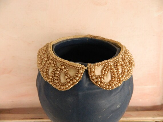 Vintage Pearl Bead Collar from Specialty House Fashion of Japan