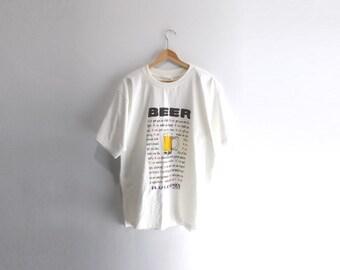 BEER SHIRT // 90s // XL // Beer // Beer Shirt // Beer T-Shirt // Playa Carmen // Beer Shirt // Beer T-Shirt // 90s // 90s Shirt // Beer