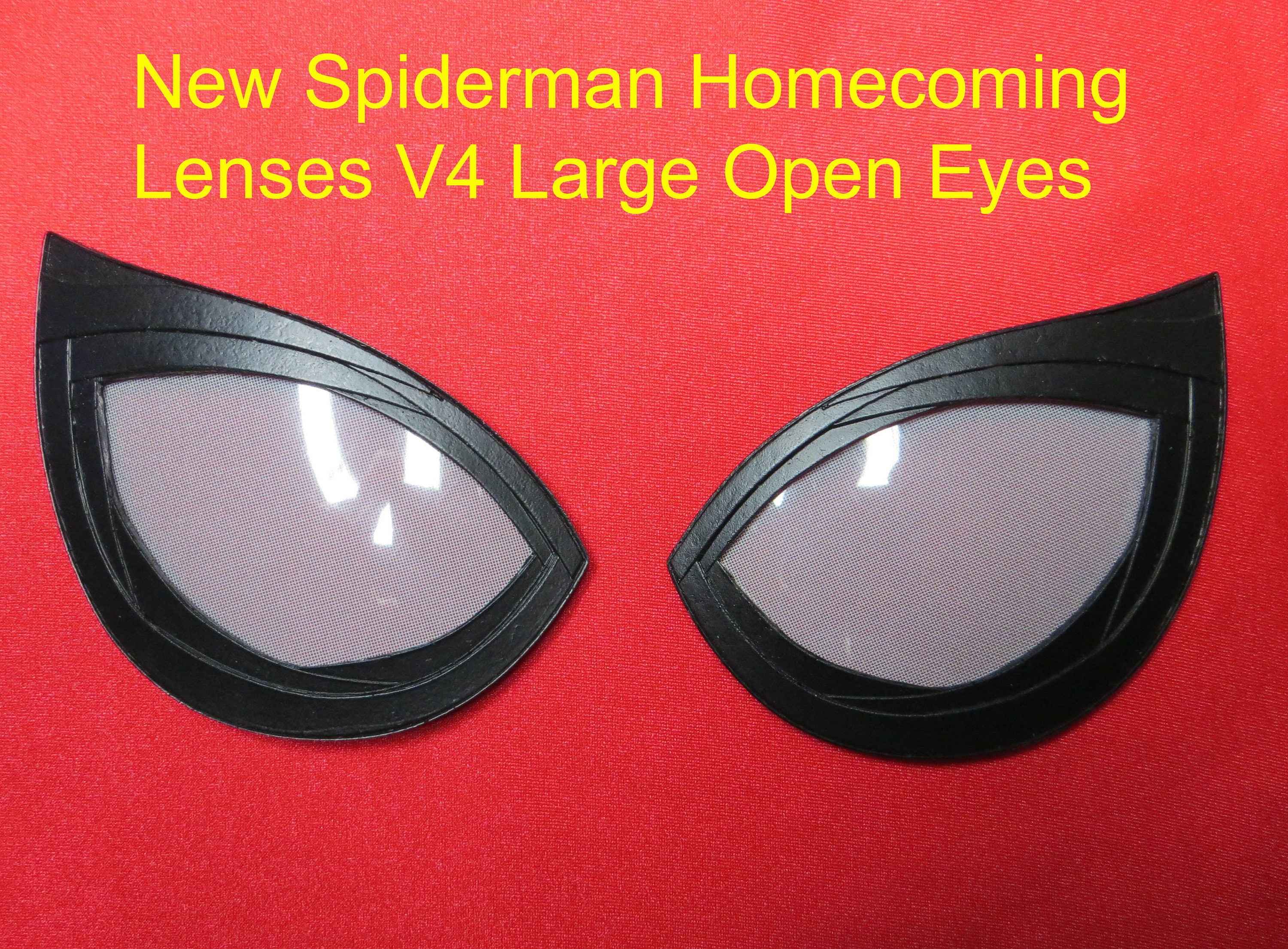 Lenses Spiderman HOMECOMING New 4.0 version new very accurate