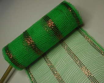 Green Decorative Mesh 5 Yards