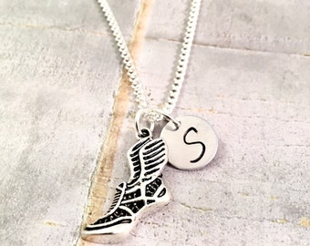 Track Necklace, track and field necklace, cross country, sprinter necklace, track coach, running necklace, coaches gift, for him, for her
