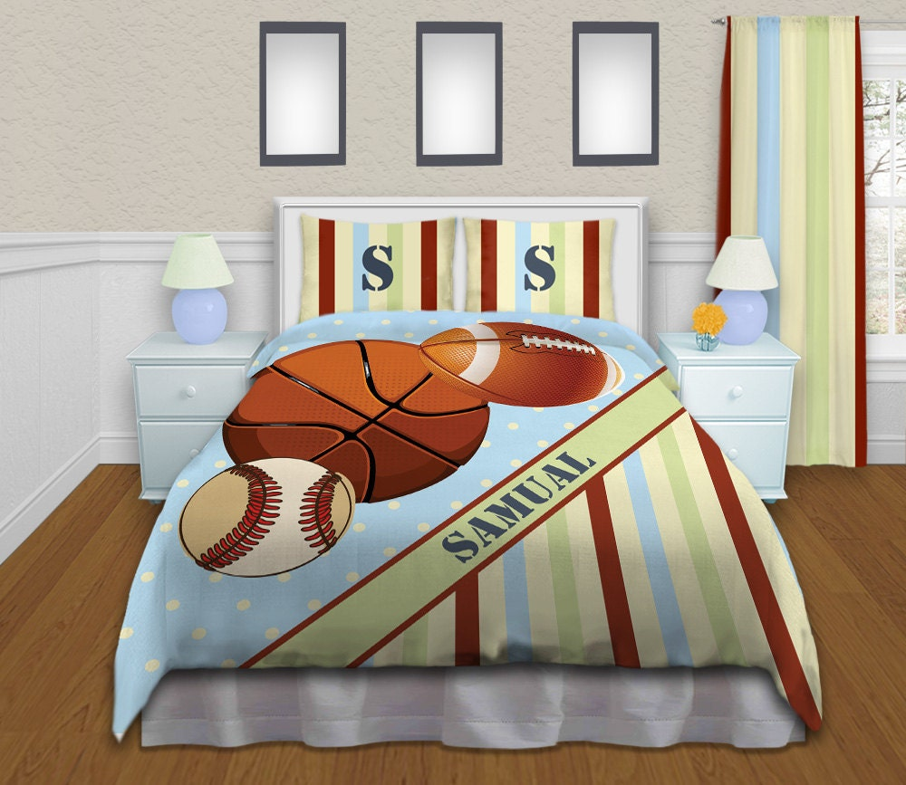Baseball Bedding For Boys Sports Comforter Sets Twin Queen