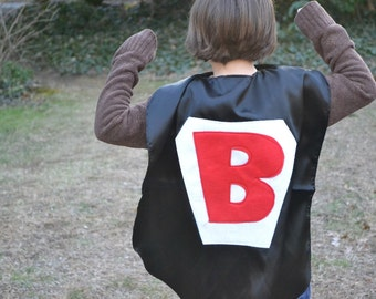 Supehero Cape  Personalized for your Kid All Sewn