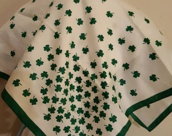 St Patrick's day scarf Irish scarf  patricks day accessories festival