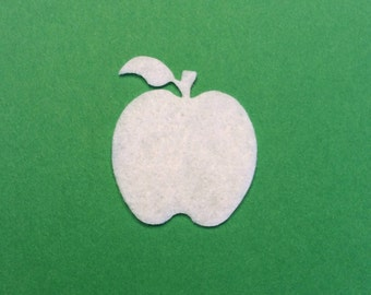 Apple Felt Cut Out for Wax Dipping and Other Crafts