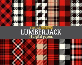 Buffalo plaid paper. lumberjack paper. lumberjack digital paper. Plaid digital paper. Digital paper plaid. Plaid papers.