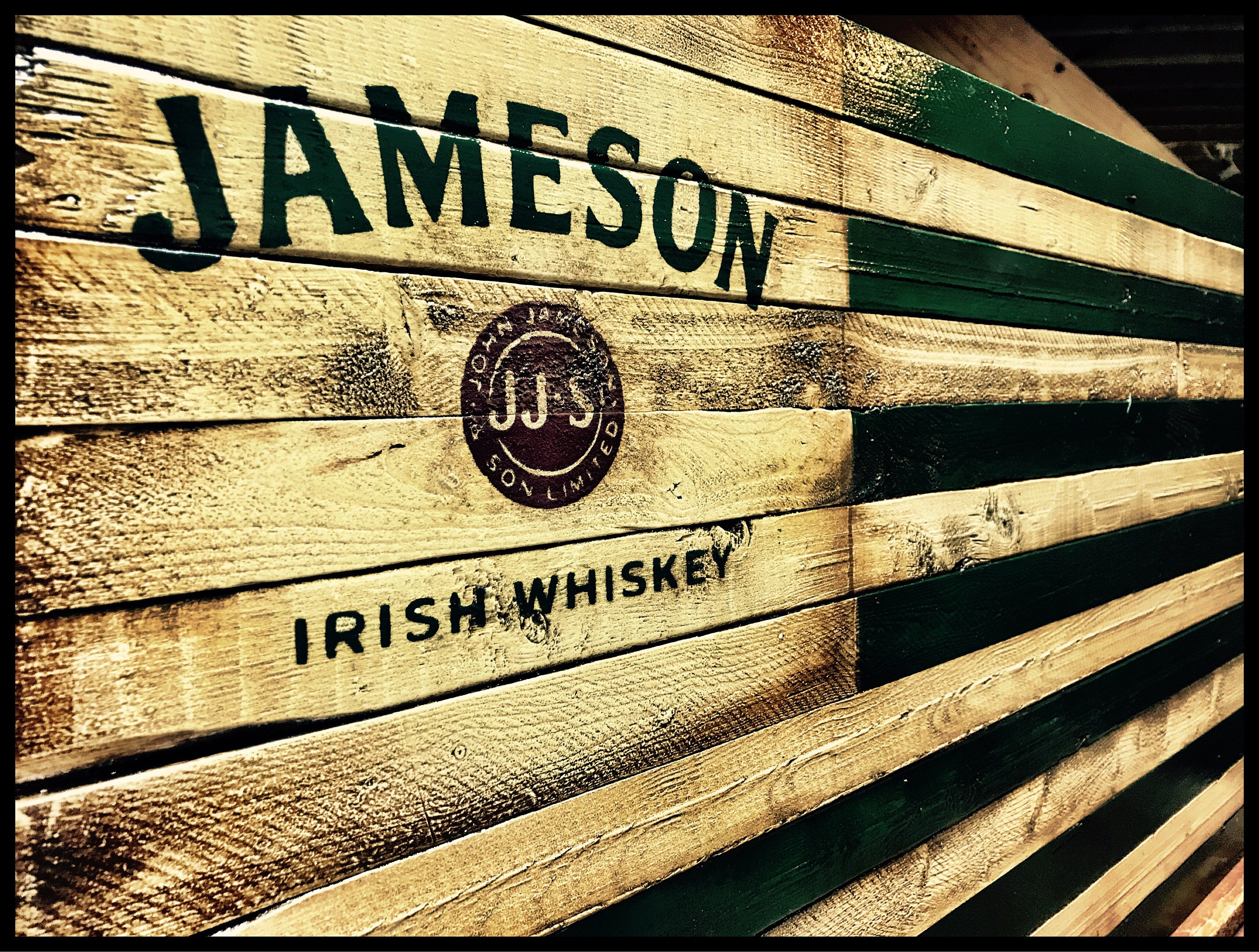 Jameson Whiskey Flag Jameson Irish Whiskey Jameson Whiskey