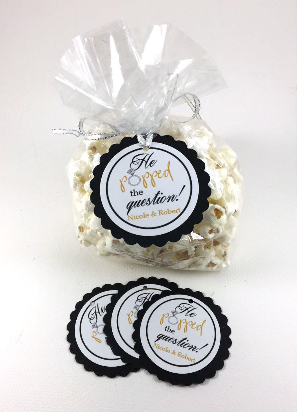 20 Engagement Party Tags, Engagement Party Hang Tags, Engagement ...